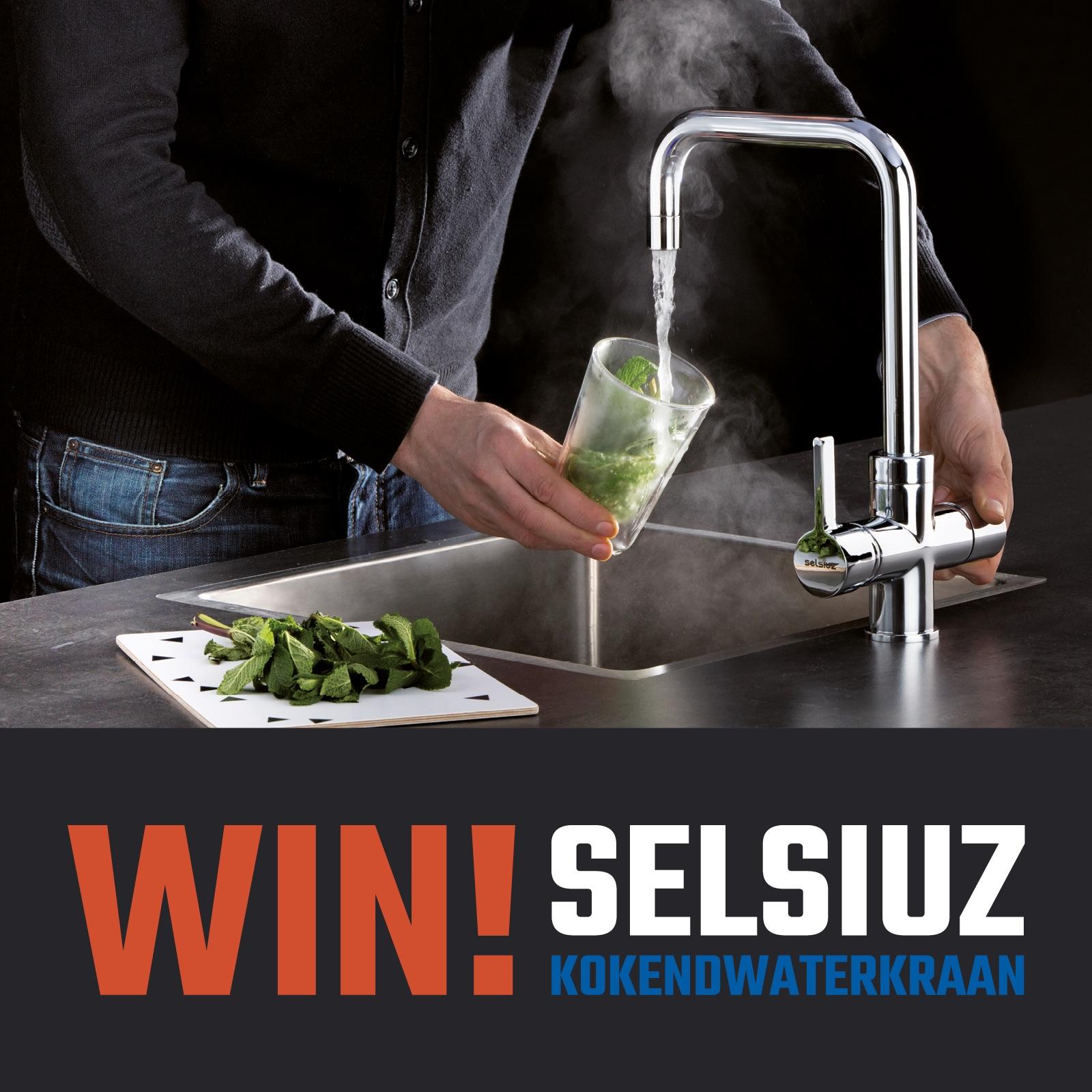 Winactie! Win een Selsiuz kokendwaterkraan #keuken #winactie #kraan #kokendwaterkraan #winactie