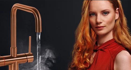 kokendwaterkraan Selsiuz #keuken #keukeninspiratie #copper #kokendwaterkraan