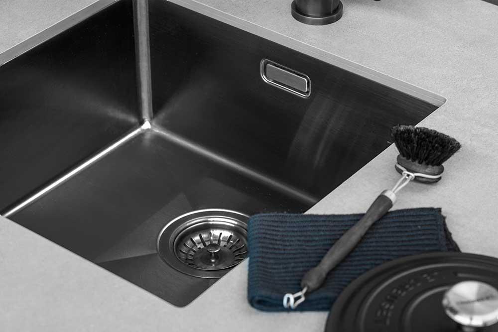 Hygiene in de keuken. De spoelbak #keuken #spoelbak