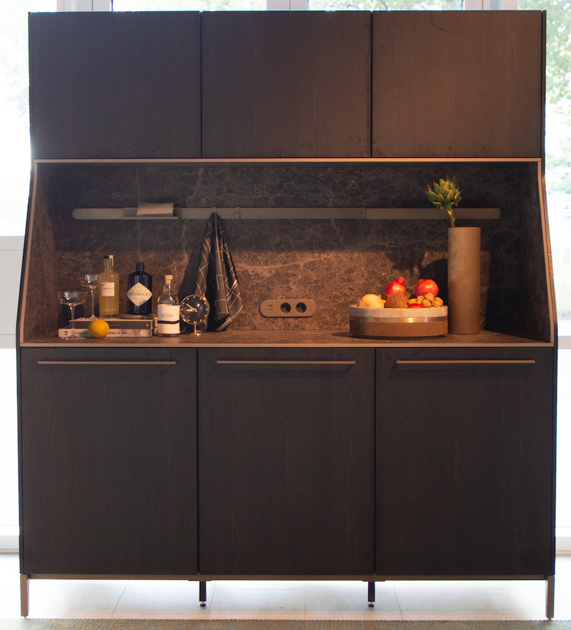 Buffetkast Siematic 29 by Perry Hansen. Special Edition voor hotelluxe in huis #keuken #keukeninspiratie #siematic