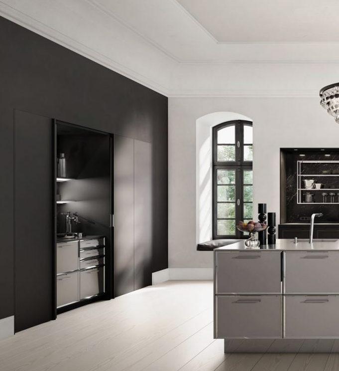 SieMatic Classic keuken - klassieke keuken met coffee corner - barista werkplek