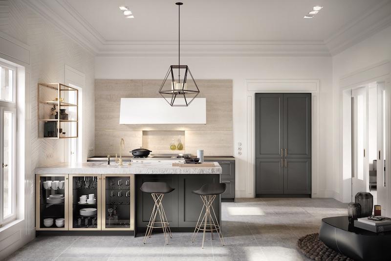 SieMatic keuken 2019 - Classic Lifestyle met marmer werkblad en moderne elementen #SieMatic #keuken #keukeninspiratie #keukendesign