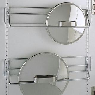 Keukenkast indeling pannendeksels SieMatic MultiMatic