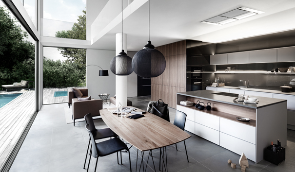 SieMatic keuken met kookeiland - SieMatic S2 Lifestyle PURE