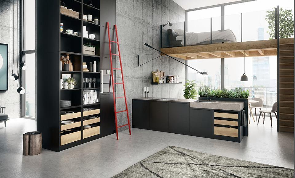 SieMatic Urban keukenconcept met losse meubelen