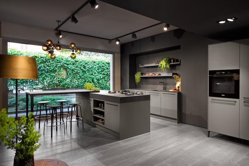 SieMatic keuken 2019 - Urban Lifestyle in nieuwe kleuren en vrijstaande meubels  #SieMatic #keuken #keukeninspiratie #keukendesign