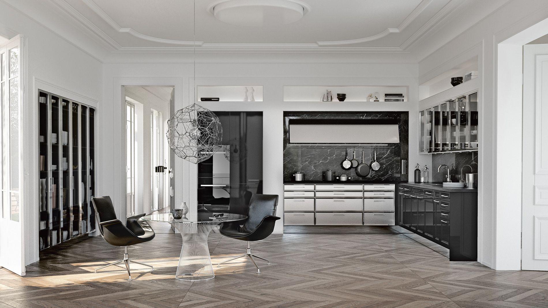 SieMatic keuken met houten vloer