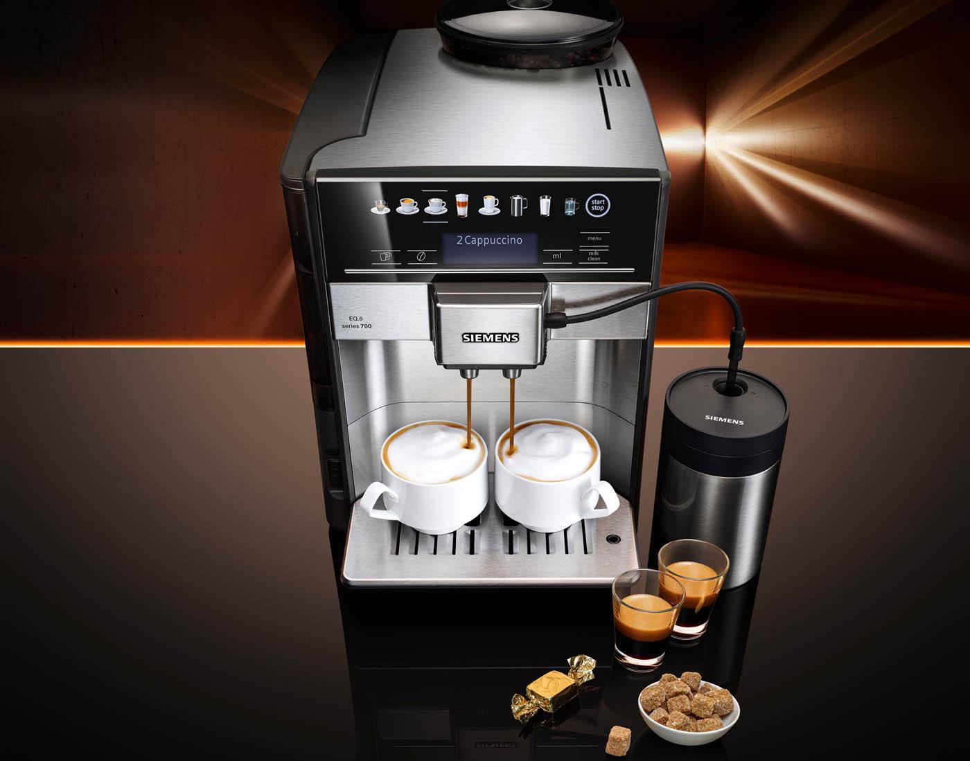 Koffievolautomaat EQ 6 van Siemens