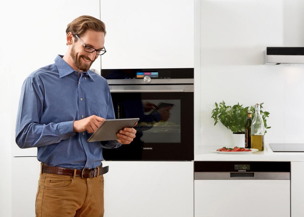 Siemens IQ 700 oven en afwasmachine met internet bediening via smartphone en tablet - keukentrends & inspiratie 2016