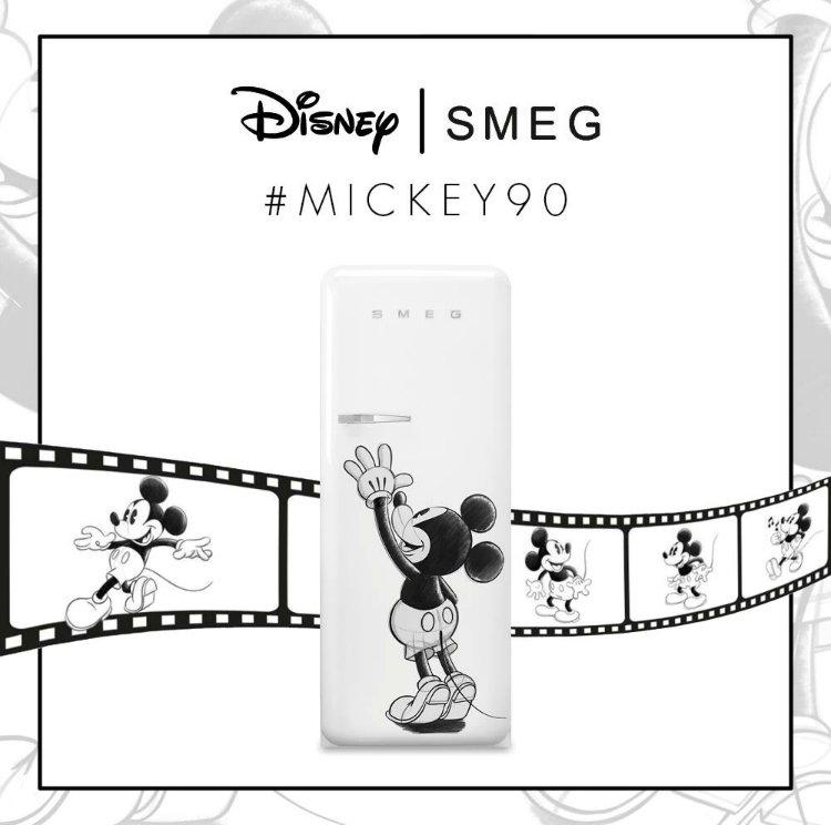 Smeg koelkast Mickey Mouse limited edition #smeglove #koelkast #smeg #disney #mickeymouse #keuken #keukeninspiratie