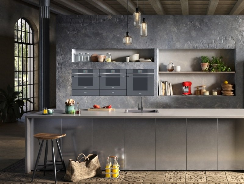 Keuken met Smeg Linea ovens #smeg #keuken #keukeninspiratie #keukenstijl #smeglove #madeinitaly #ovens