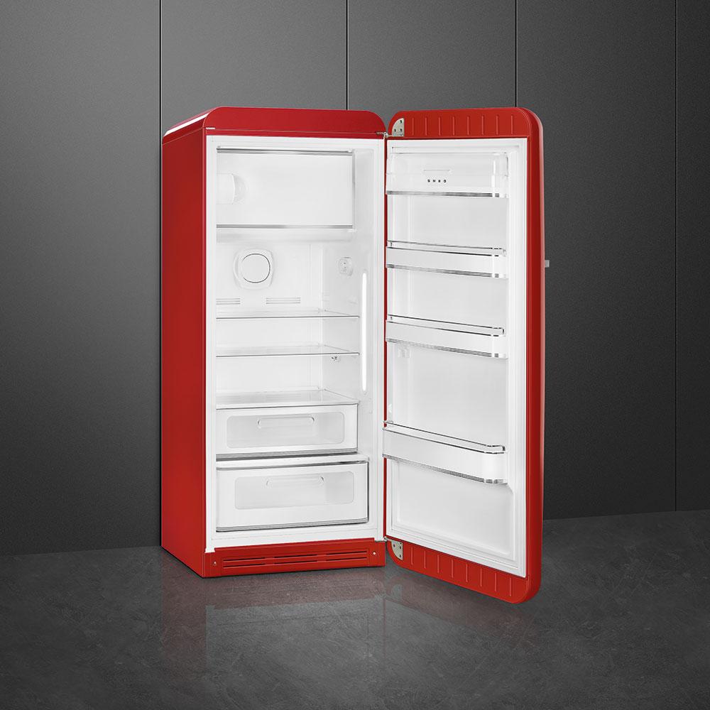 Vernieuwde Smeg FAB28 koelkast jaren 50 style A+++ met technische innovaties #keuken #keukeninspiratie #koelkast #smeg #smeglove #smeg50style