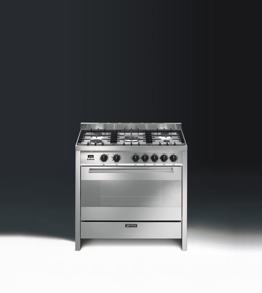 Smeg TR90 zilver fornuis