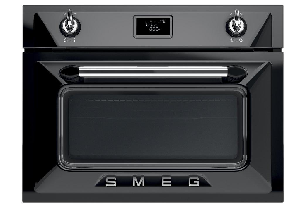 Smeg oven Victoria Tradizionale zwart
