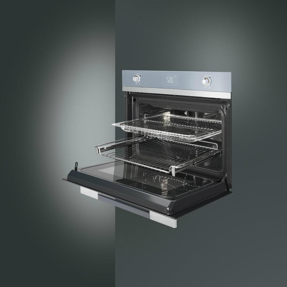 De nieuwe compacte smeg ovens met magnetronfunctie nieuws startpagina voor keuken idee n uw - Vergroot uw keuken ...