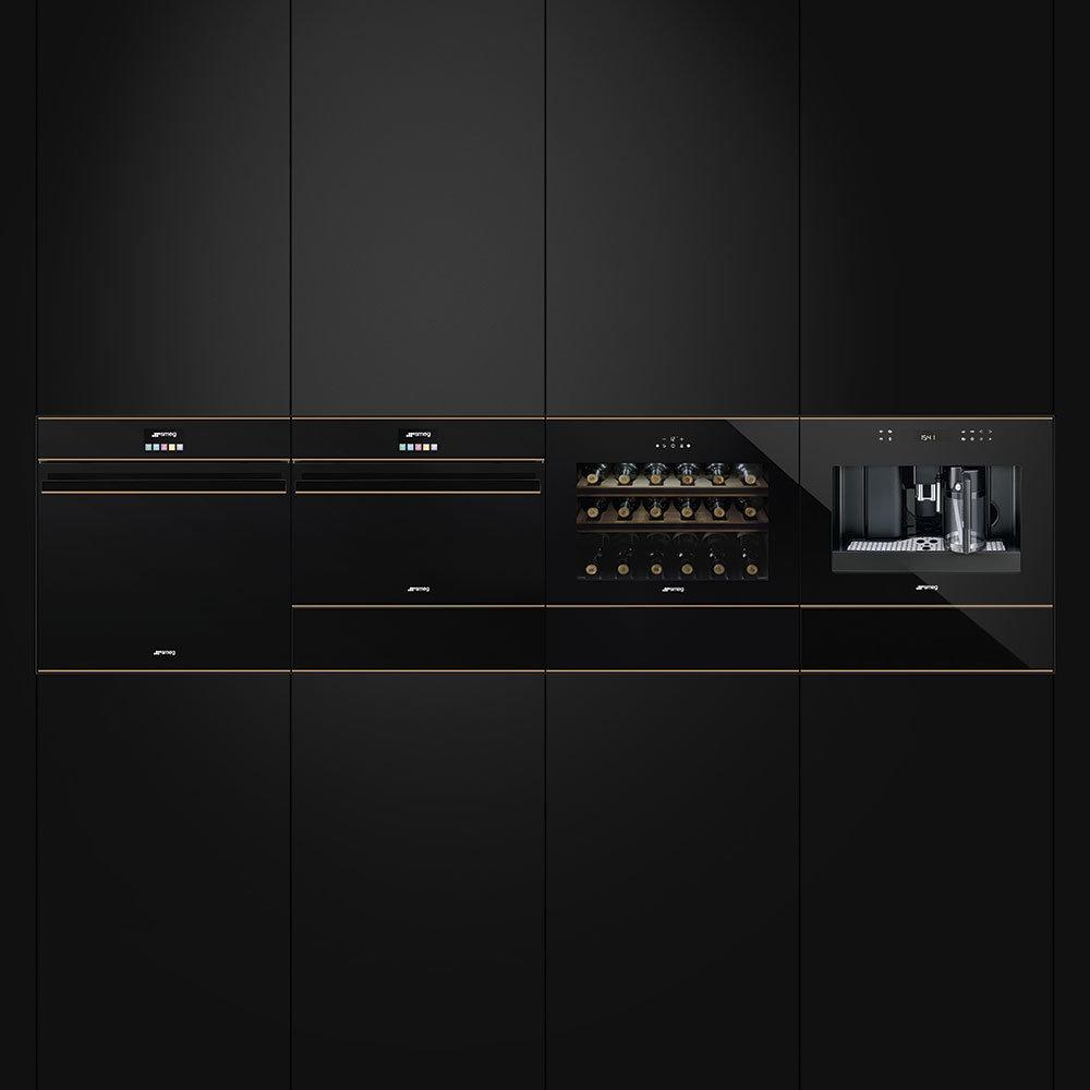 Inbouwapparatuur van Smeg. Linea ovens. Good design awards 2017 #smeg #smeglove #ovens