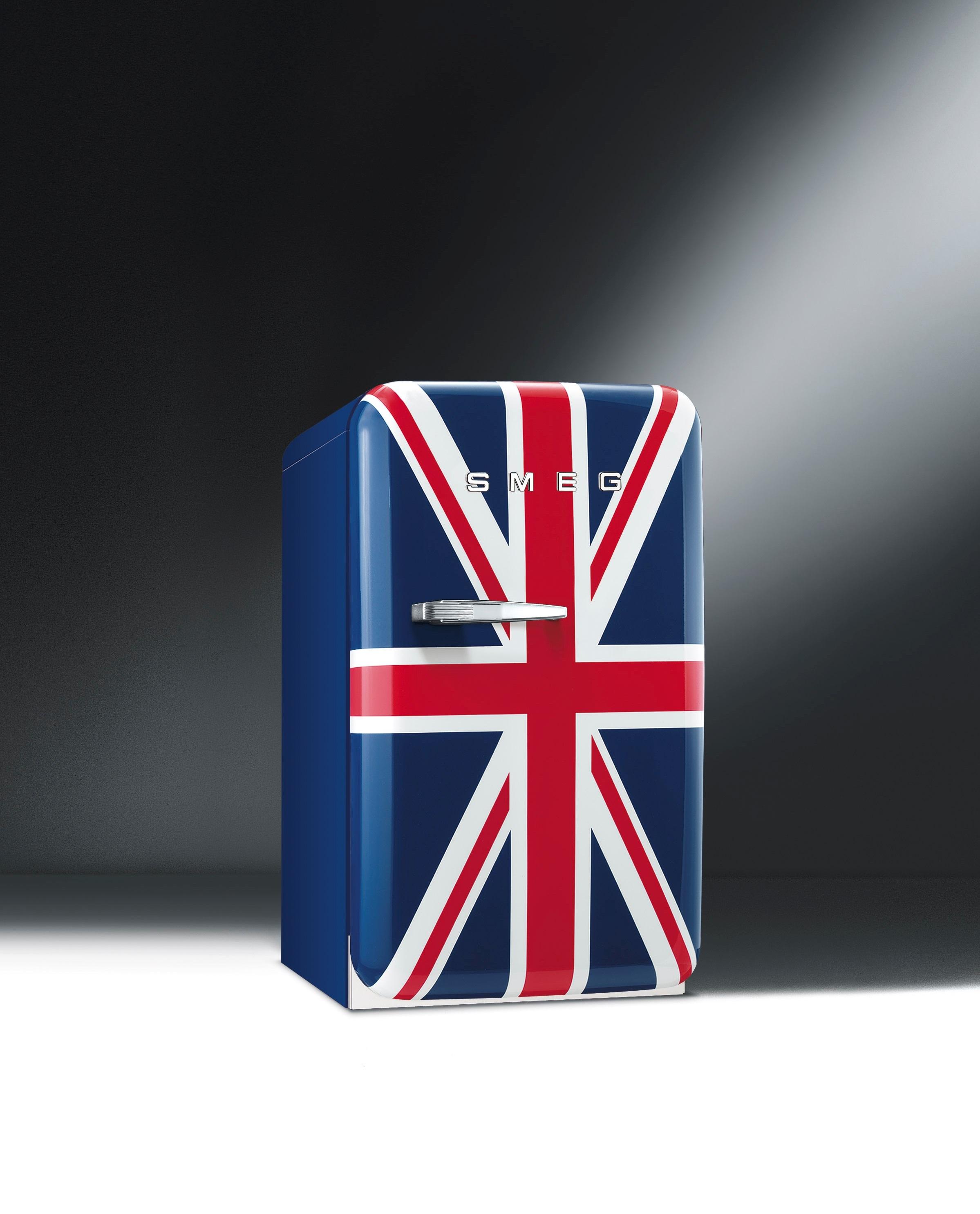 Smeg minibar koelkast union jack