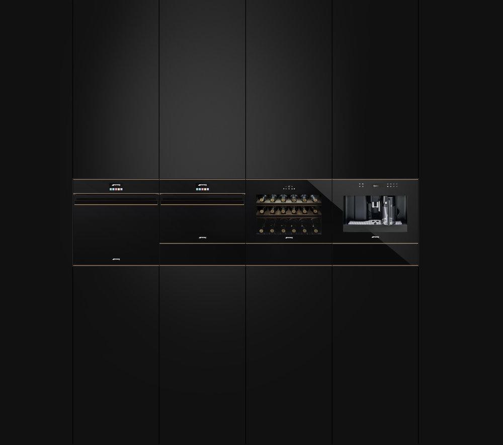 De nieuwe lijn inbouwapparatuur Dolce Stil novo van Smeg #ovens #wijnklimaatkasten