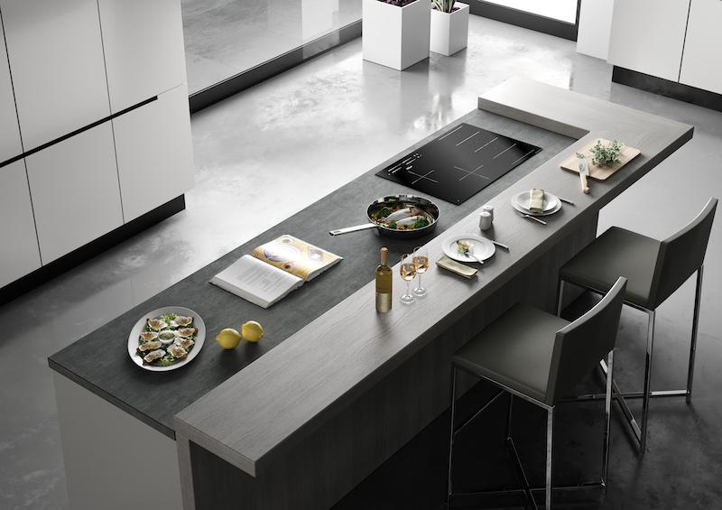 Alles over inductie koken. Kookplaten inductie. Kookeiland met Smeg kookplaat #smeg #inductie #kookplaat #keukeninspiratie