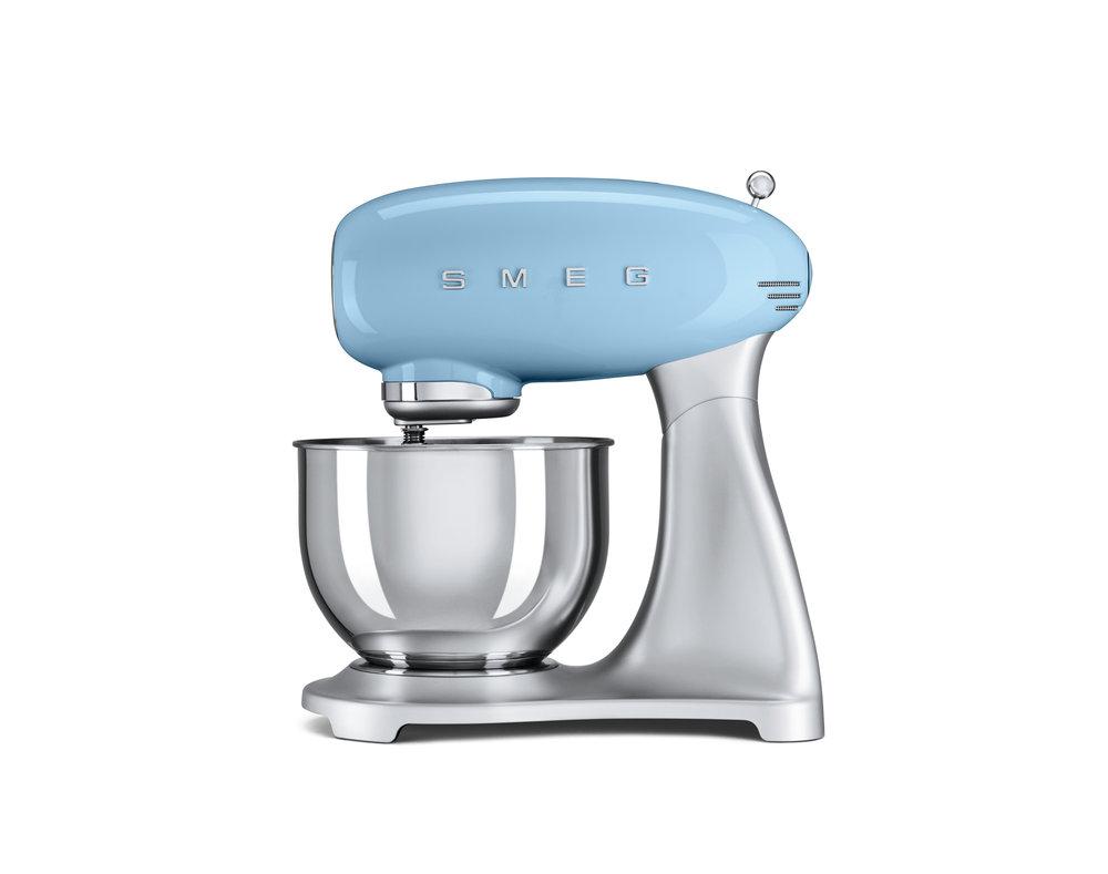Smeg keukenmachine blauw