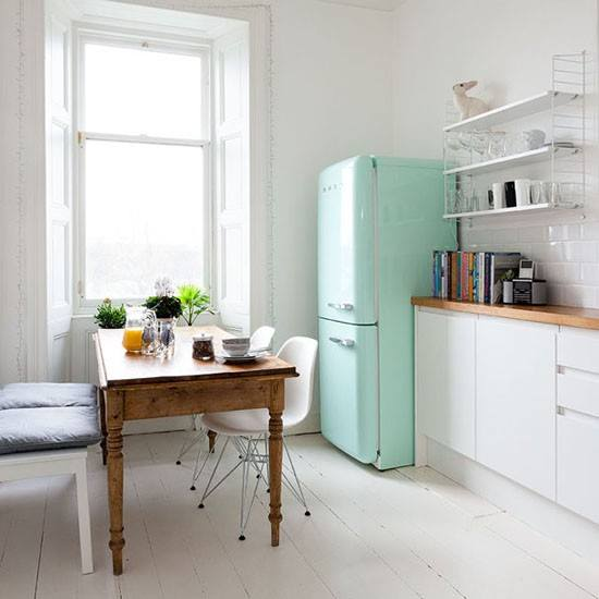 Smeg jaren 50 collectie nieuws startpagina voor keuken for Kitchen colors with white cabinets with gorilla stickers