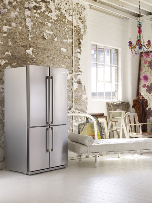 Smeg side-by-side koelkast FQ60XP