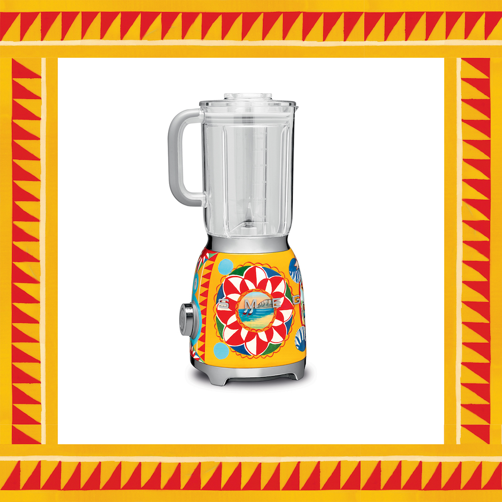Smeg blender 50's style - design Dolce&Gabbana collectie Sicily is my love #keuken #keukenapparaten #DGsicilyismylove