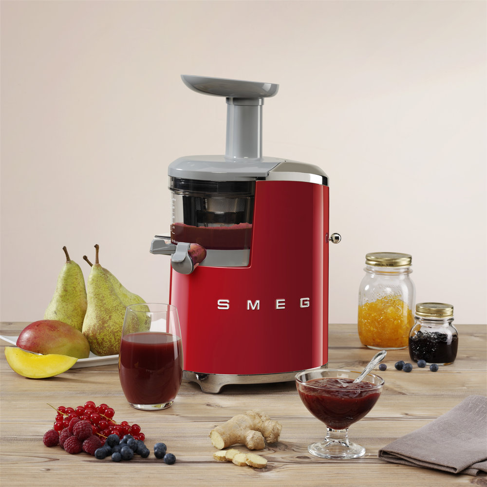 Slow Juicer Zin En Onzin : De SMEG Slowjuicer: sap persen in stijl - Nieuws Startpagina voor keuken idee?n UW-keuken.nl