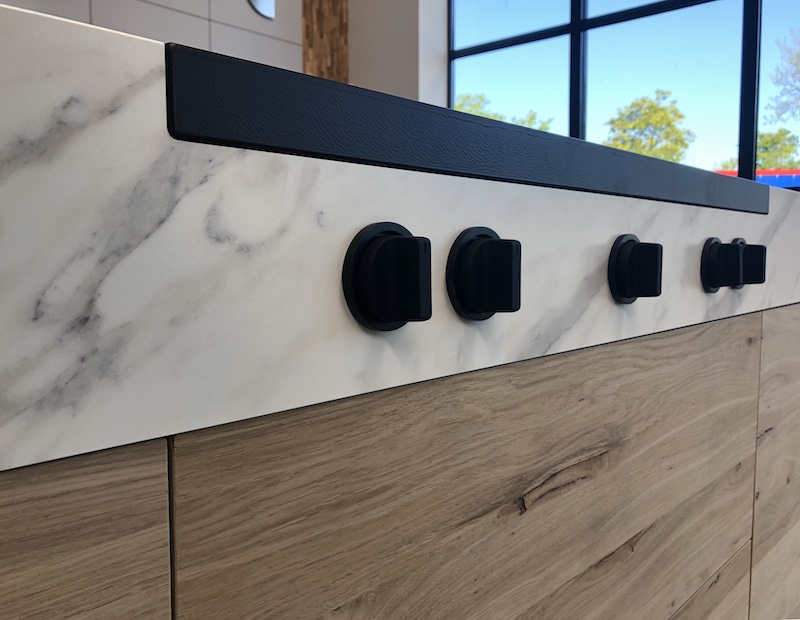 Steel inductiekookplaat Design40 cooktop #inductie #steel #kookplaat