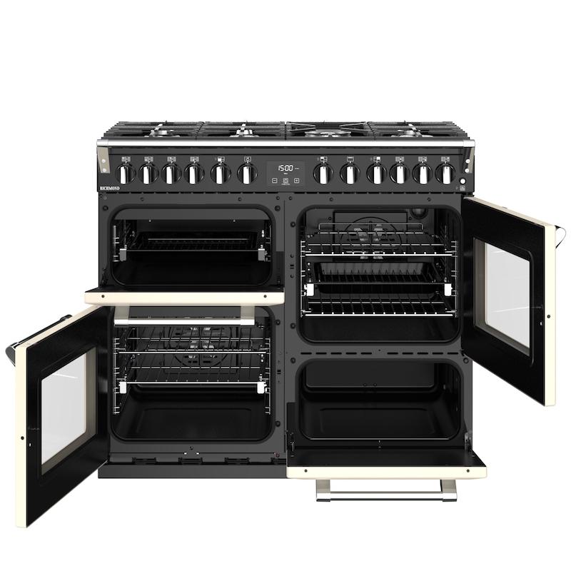Stoves Richmond fornuis met vier ovens #stovesfornuis #stoves #fornuis #keuken