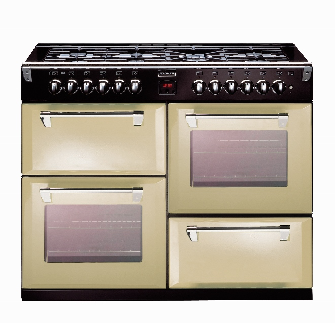 Stoves Richmond fornuis champagne kleur