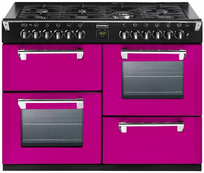 Stoves Richmond 1100 vrijstaand fornuis roze