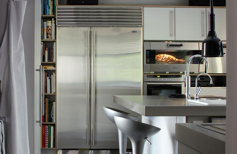 Sub zero icbbi 48sid side by side koel vriescombinatie product in beeld startpagina voor - Meubilair amerikaanse keuken ...