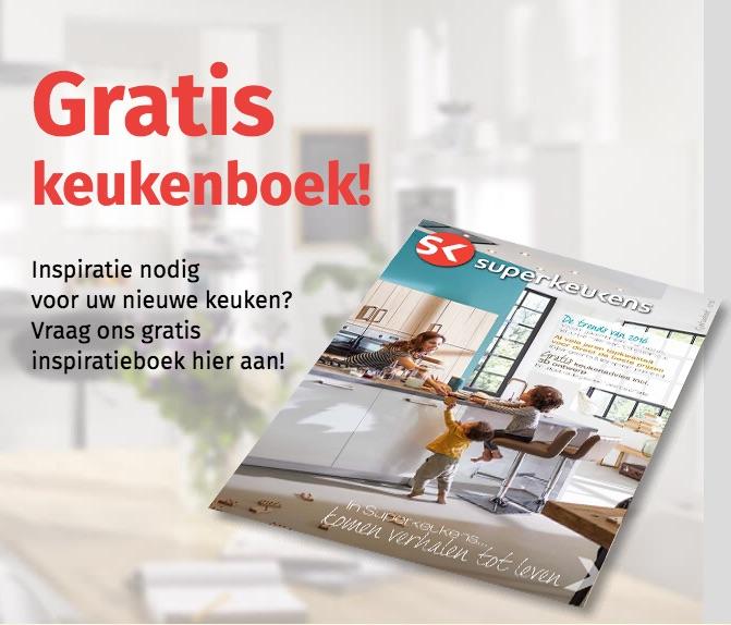 Gratis keukenideeen boek van Superkeukens - vraag het gratis aan ter inspiratie