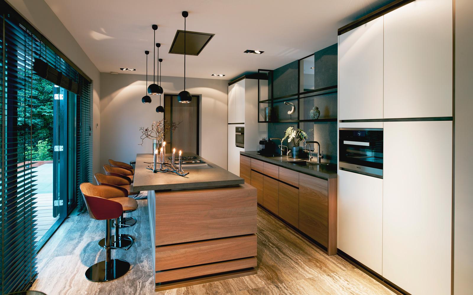 Tieleman keuken met kookeiland design Eric Kant #keuken #kookeiland #design #keukeninspiratie