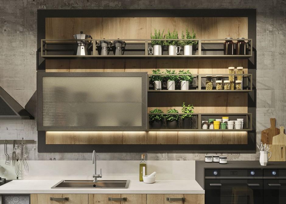Keuken Snaidero Loft via Tieleman Keukens