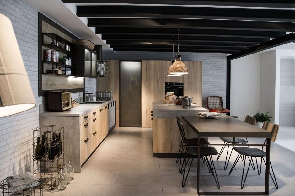 Snaidero loft keuken via Tieleman Keukens
