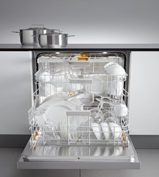 Miele afwasautomaat met flexibele indeling ook voor schalen en groot bestek