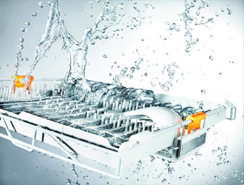 Miele afwasautomaat met 3D besteklade