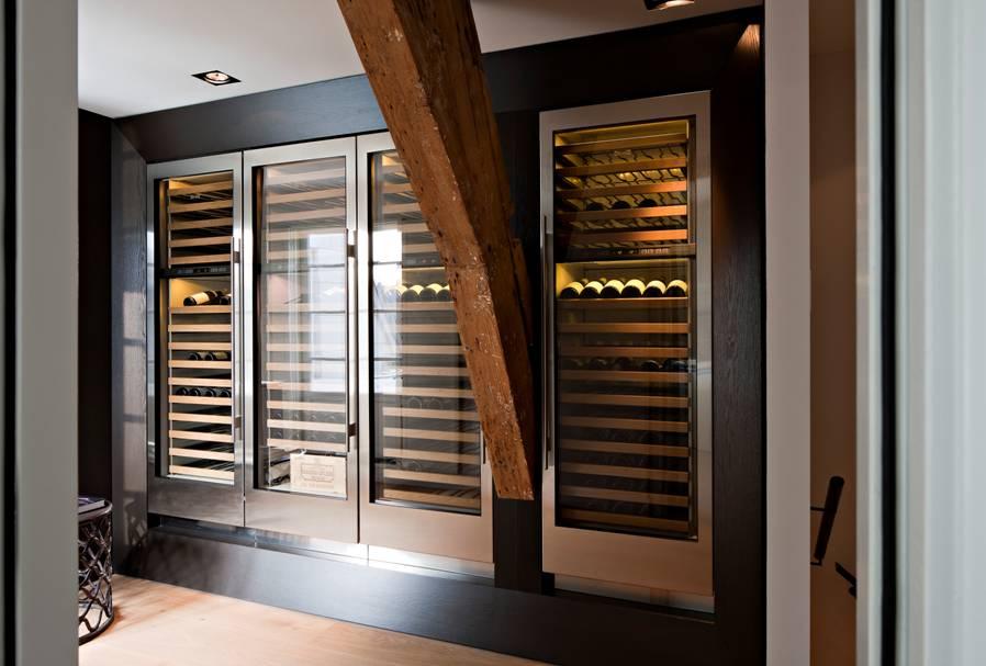 Klimaat wijnkast ontwerp keuken accessoires