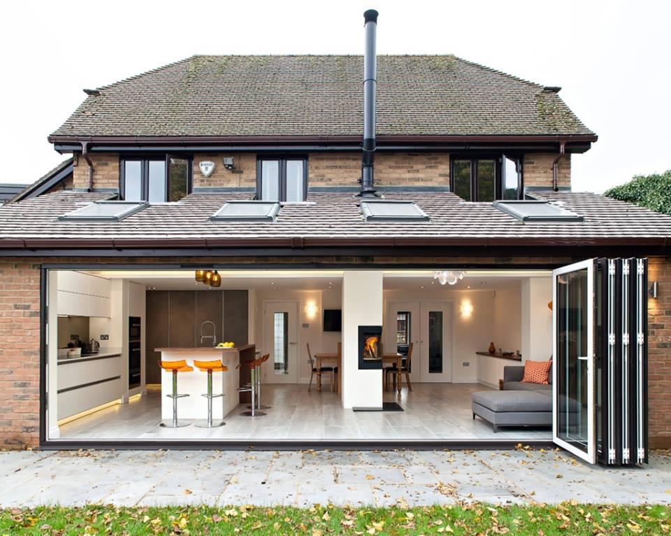 Schitterende designkeuken in aangebouwde serre nieuws startpagina voor keuken idee n uw - Moderne woning buiten lay outs ...