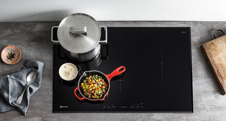 Bauknecht inductiekookplaat. Energiezuinige en gebruiksvriendelijke kookplaat #keuken #kookplaat #inductiekookplaat #bauknecht