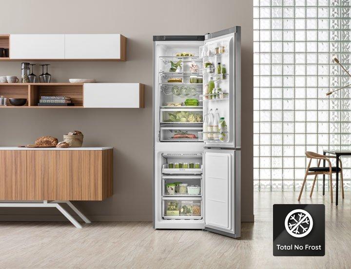 Bauknecht keukenapparaten. Koel-vriescombinatie #koelkast #bauknecht #keukenapparaten