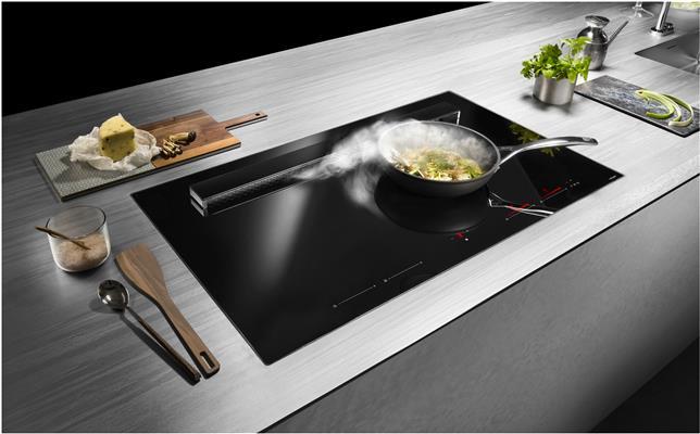Kookplaatafzuiging inductiekookplaat Concept Swiss #conceptswiss #kookplaatafzuiging #kookplaat #inductie #keuken