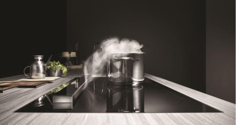 Concept Swiss kookplaat afzuiging