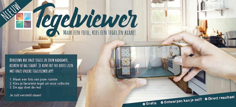 Tegels kiezen voor je keuken? Designtegels.nl heeft een handige online tegelviewer #designtegels #tegels #keukentegels #tegelviewer #keuken #keukenvloer