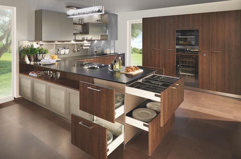 Kookeiland Of Schiereiland : Een keukeneiland of kookeiland bekijk keukens db keukens