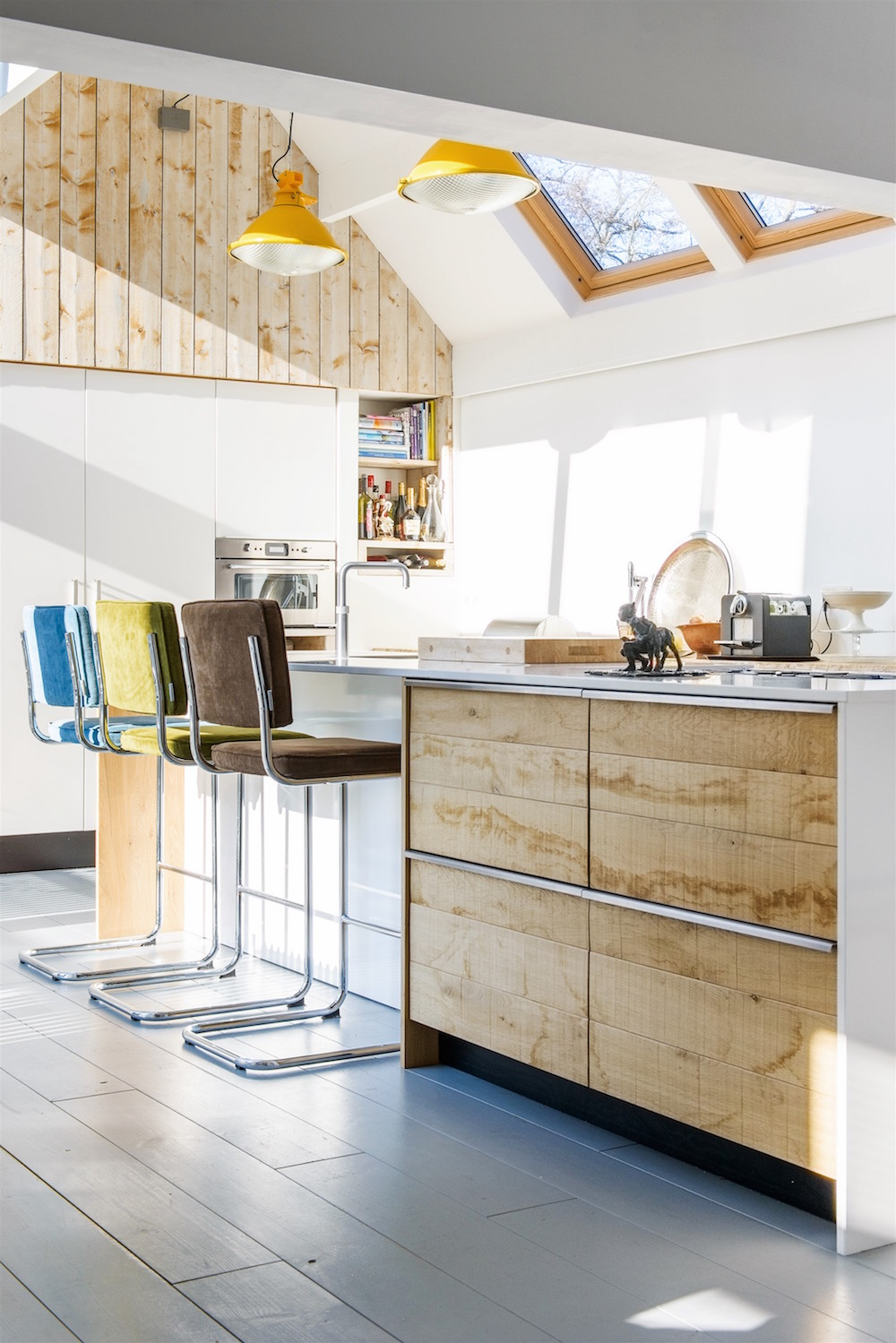 Nieuwe Keuken Kopen Tips : keuken en de hoge wand. Op deze manier ingedeeld is er in de relatief