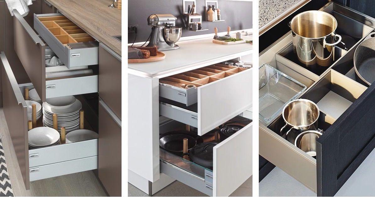 Accessoires voor de keuken: lade-indelingen #bestekbak #ladeindeling #accessoires