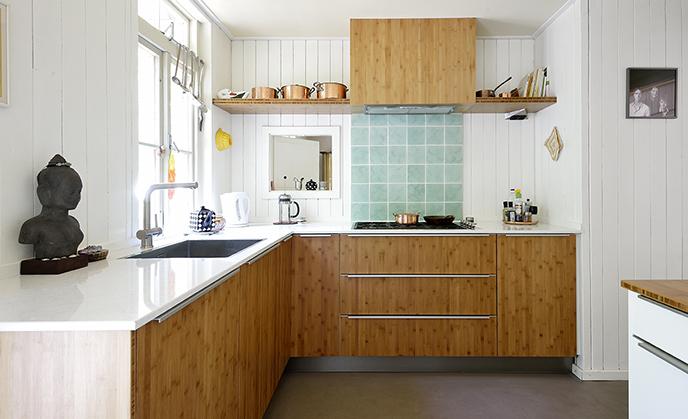 Houten keuken van Keukenspecialist.nl. Vraag de gratis belevingsgids met keukeninspiratie.